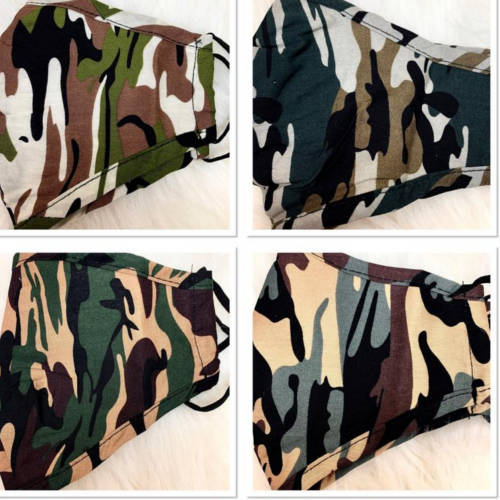 Camouflage Face Mask (4 Options Pic 2)
