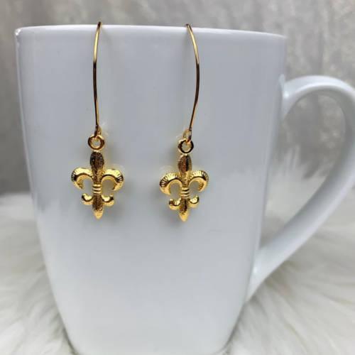 Fleur de Lis Earrings