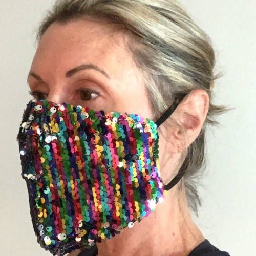 Flippy Sequin Facemask (Adult Model)