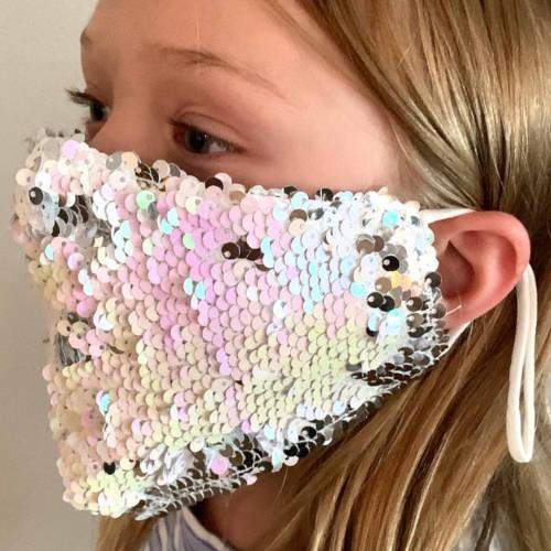 Flippy Sequin Facemask (Kid Model)