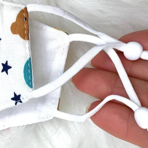 Kids Bunny & Bear Facemask (Adjustable)