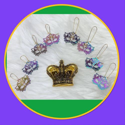 Rainbow Mask Earrings (Box)