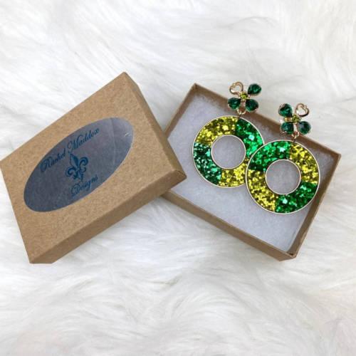 St. PAtricks Earrings (RMD Box)