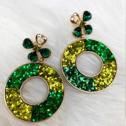 St. PAtricks Earrings (RMD Pillow)