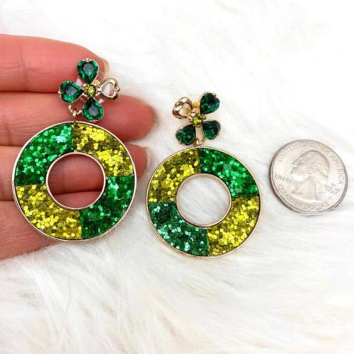 St. PAtricks Earrings (RMD Size)