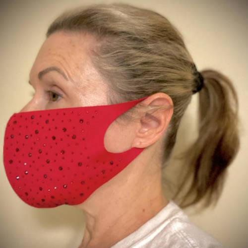 Valentine Mask (5 display red)