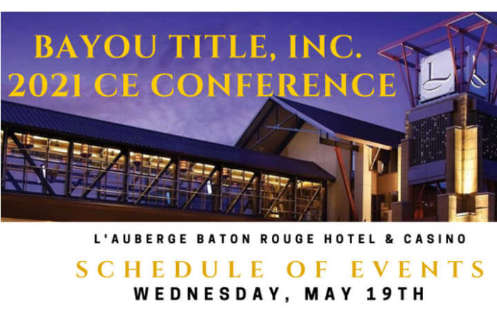 2021 L'Auberge CE Conference - Rachel Maddox Show