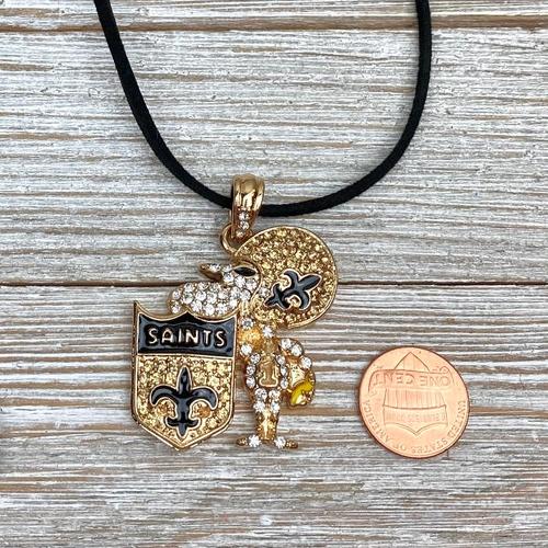 Saints Charm Necklace (sizeimage)