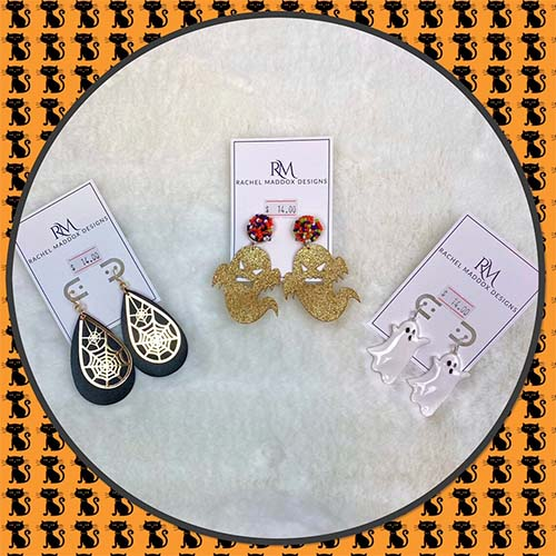 Dangle Halloween Earrings (3)