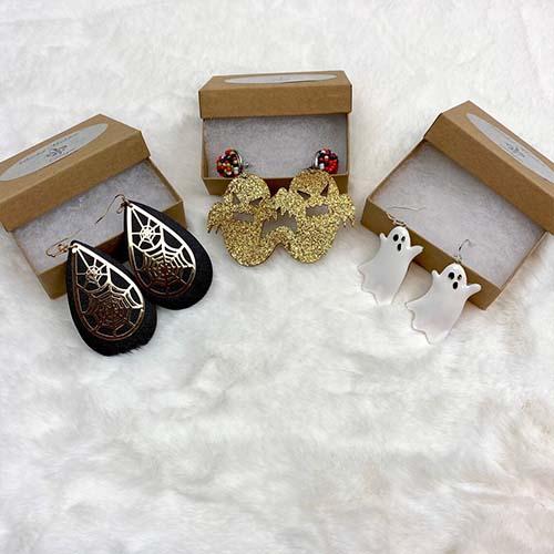Dangle Halloween Earrings (All three)